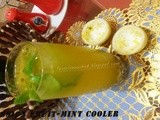 Passion Fruit-Mint Cooler