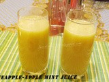 Pineapple-Apple Mint Juice