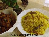 Plain Biriyani Rice