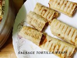 Sausage Tortilla Wraps