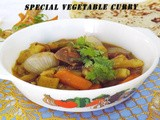 Special Vegetable Curry