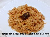 Tomato Rice with Chicken Flavour