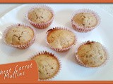Wheat Carrot Muffins