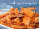 Baked Sweet Potato Fries with Garlic Lime Mayo