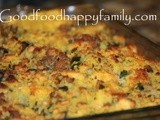 Cornbread, Sausage and Spinach Stuffing