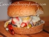 Double Pepper Turkey Burger
