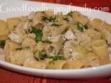 Lemon Artichoke Chicken Pasta