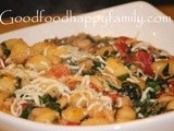 Skillet Gnocchi with Greens and White Beans