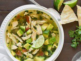 Chicken Avocado Lime Soup