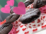 Chocolate beetroot cupcakes, a healthier Valentine treat