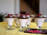 Chocolate Raspberry Yoghurt Desserts – so quick