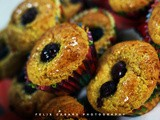 Easy and healthier blueberry muffins