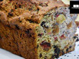 Granny's Fruit Loaf with Chia Seeds [no refined sugar and no butter, lactose free]