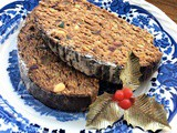 Healthier Maltese Style Christmas Log