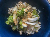Jasmine rice with chicken and broccoli