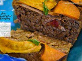 Vegemince Loaf with Sweet Potato and Oatbran