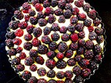 Very Quick Mulberry [Cawsli] Cheesecake [gluten free]