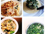 Recipe: Monday meal ideas - four delicious meals based aroundspinach{seasonal veg}