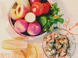 Recipe: Prawn and peach tacos