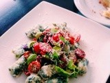 Recipe: Ricotta gnocchi with basil and tomato salad