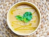 Creamy Sweet Potato Soup with Ginger and Gluten-Free Crackers