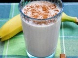 Guest Post by Debbie Lawrence from Chef2Chef: Peanut Butter Smoothie