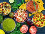 Homemade Salsa Recipes | Salsa Roja, Salsa Verde, Pico De Gallo, Mango Salsa, Avocado Salsa