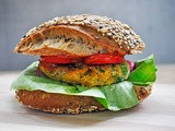 Lentil and Greens Veggie Burger Patties