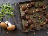 Perfect Roasted Garlic Mushrooms