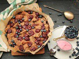 Vegan Bread Pudding / Kirschenmichel