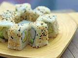 Vegan California Roll | Tofu Maki