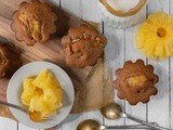 Vegan Pineapple Muffins
