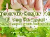 Vegetarian Easter Menu | Meniu vegetarian de Paste