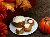 Pumpkin Pie Cupcakes with Cream Cheese Frosting