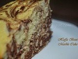 Chocolate Marble Cake - Birthday special
