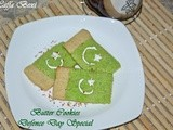 Flag Butter Cookies - Defence Day Special