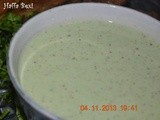 Mint yogurt (Raita)