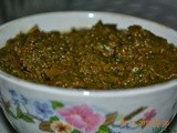 Spicy Green Mint Sauce (Hari Chutney)