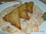 Spicy Samosa Chaat