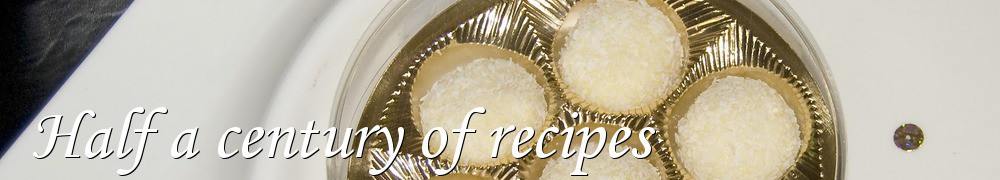Very Good Recipes - Half a century of recipes