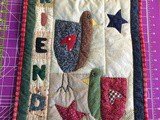 Friends Chicken Quilt