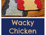 Wacky Chicken Pot Holders – Upcycling with Old Jeans