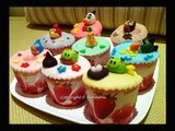 Ab Overloaded: Angry Birds Birthday Cupcakes