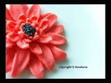 {Edible Sugar Flower} Orange Daisy