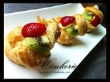 Kiwi & Strawberry Cream Puff