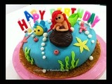 The Little Mermaid (Ariel) fondant cake