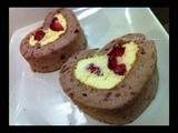 {Valentine's heart} Heart-shaped Swiss Roll