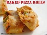 Baked Pizza Rolls from Scratch