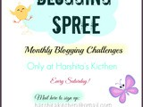 Blogging Spree for Food Bloggers ~ Rules and Details