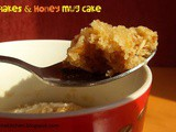 Easy 2 Minute Cornflakes & Honey Mug Cake